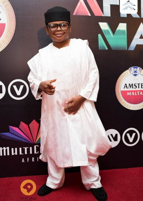 aw Paw at the 2014 Africa Magic Viewers Choice Awards