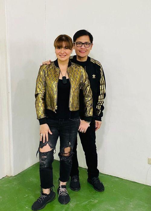 Aiko Melendez seen with her boyfriend Jay Khonghun in June 2020