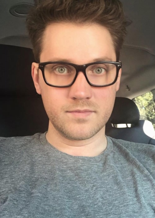 Alex Goot in an Instagram selfie from January 2019