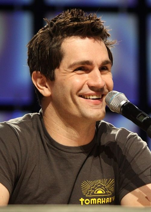 American actor, voice actor, and musician Sam Witwer