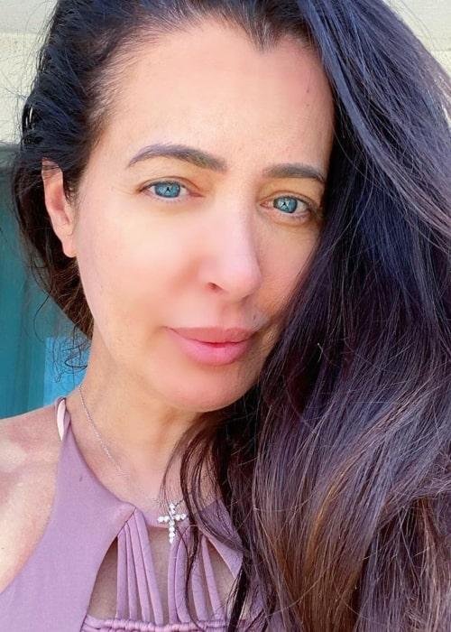 Amy Weber as seen in a selfie taken in Lake Havasu City in May 2020