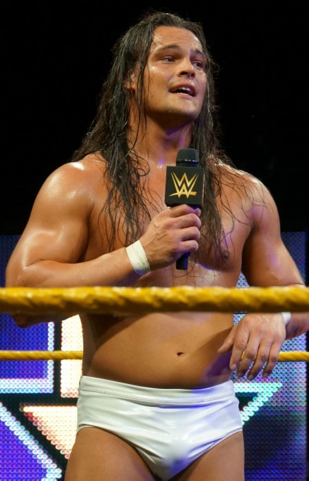 Bo Dallas as seen while speaking to WWE fans at Axxess in April 2014