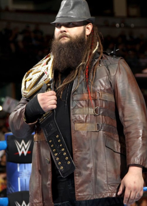 Bray Wyatt during a WWE Smackdown match in August 2018