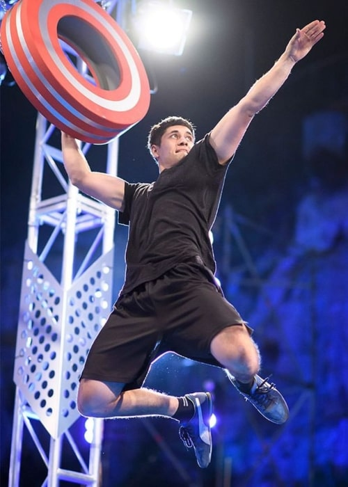 Brodie Pawson as seen in a picture taken while on American Ninja Warrior in the past