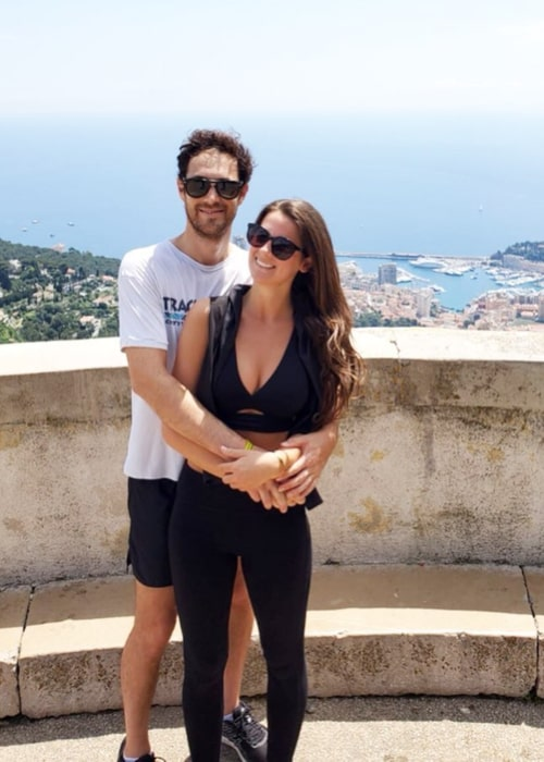 Bruno Senna and Ludovica Colombotto Rosso, as seen in June 2020