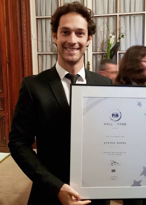 Bruno Senna as seen in an Instagram Post in December 2017