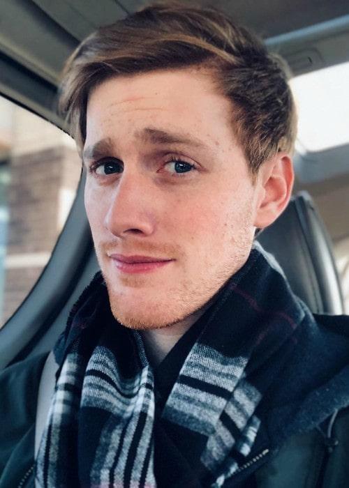 Bryce McQuaid in an Instagram selfie as seen in December 2019