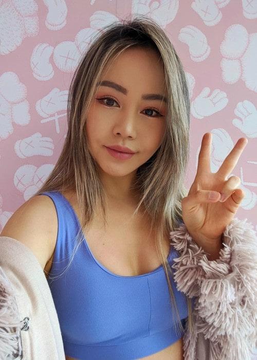 Chloe Ting in a selfie in January 2020