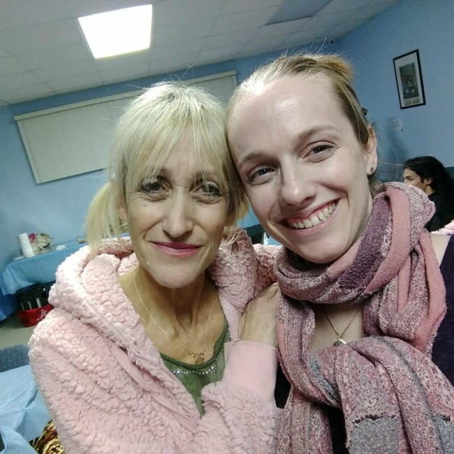 Constance Shulman (Left) and Helen Abell in a selfie in December 2018