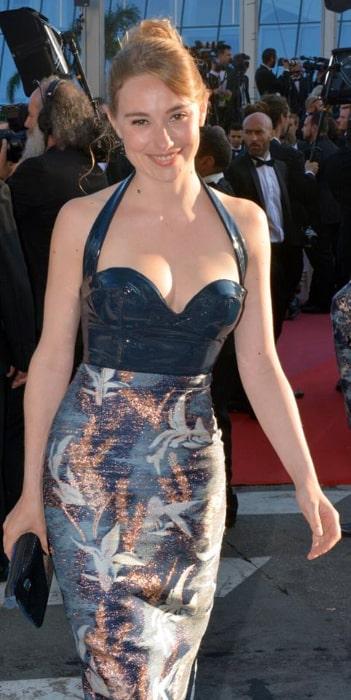 Déborah François pictured at 2018 Cannes Film Festival