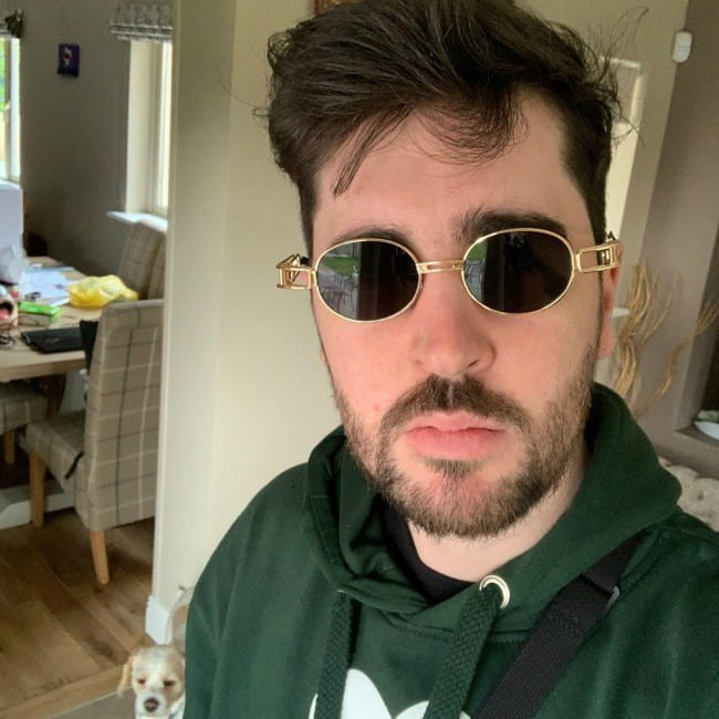 Daithi De Nogla in a selfie as seen in June 2019