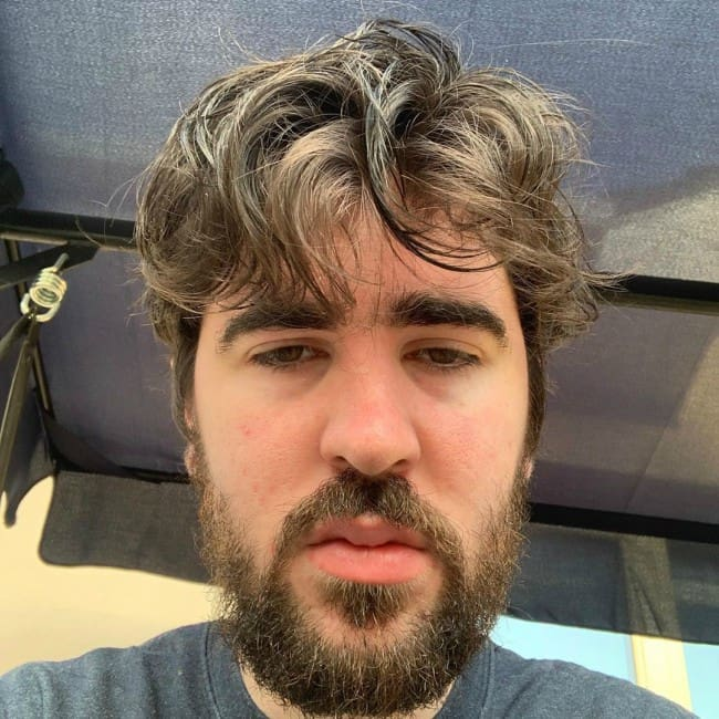 Daithi De Nogla in an Instagram selfie as seen in October 2019