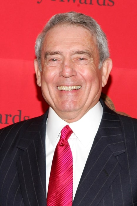 Dan Rather after receiving the Peabody Award in May 2005