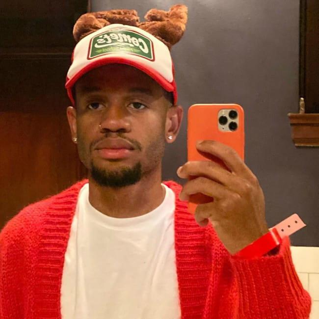 Demetrius Harmon in a selfie in December 2019