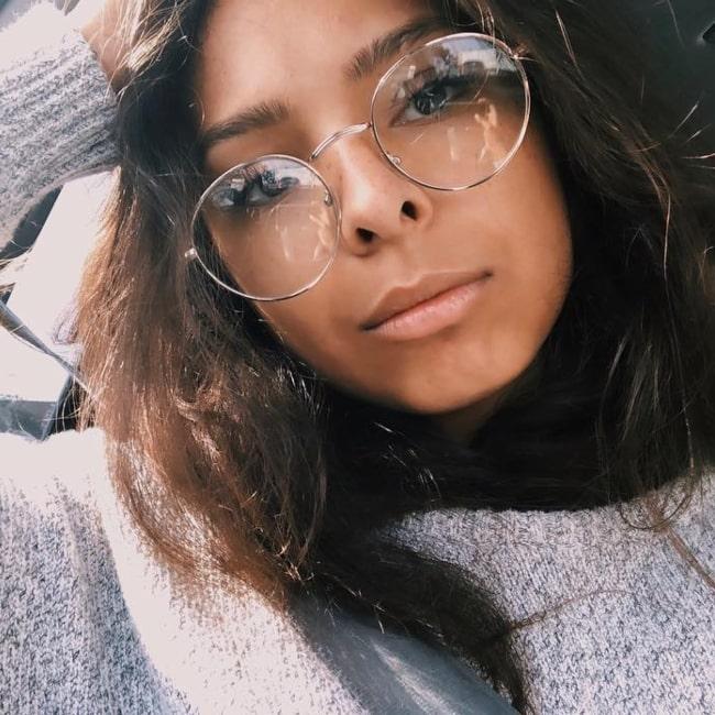 Denisea Wilson as seen in a selfie taken in March 2019