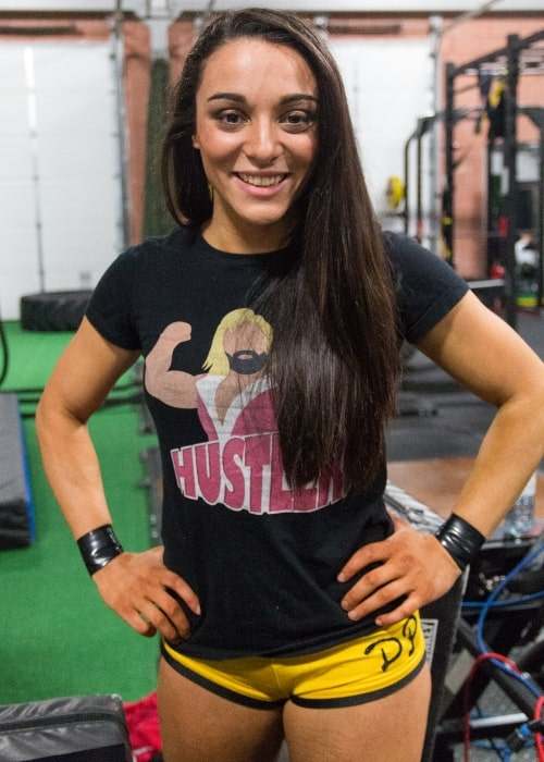 Deonna Purrazzo as seen in a picture taken at a Destiny Wrestling show in Mississauga on January 31, 2016