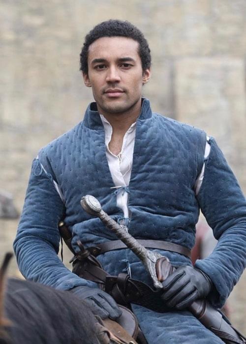 Devon Terrell as seen as King Arthur in 'Cursed'