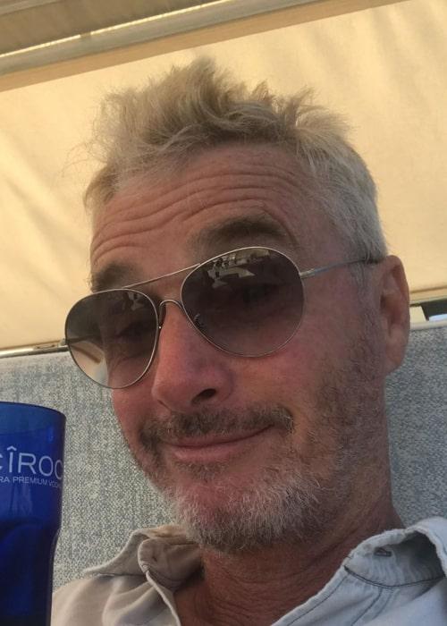 Eddie Irvine as seen in an Instagram Post in July 2019