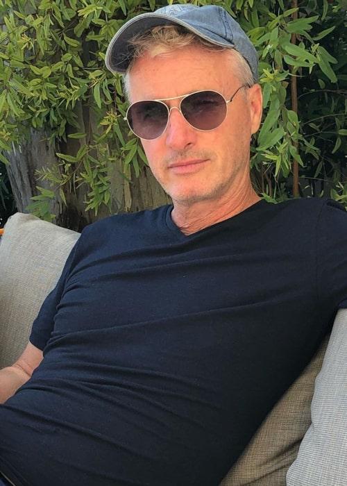 Eddie Irvine as seen in an Instagram Post in May 2020