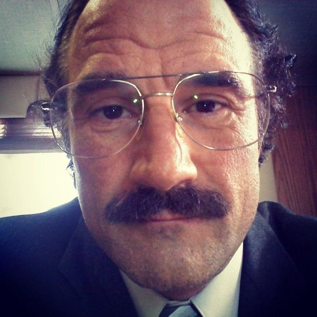 Elias Koteas as seen in a selfie taken in 2010