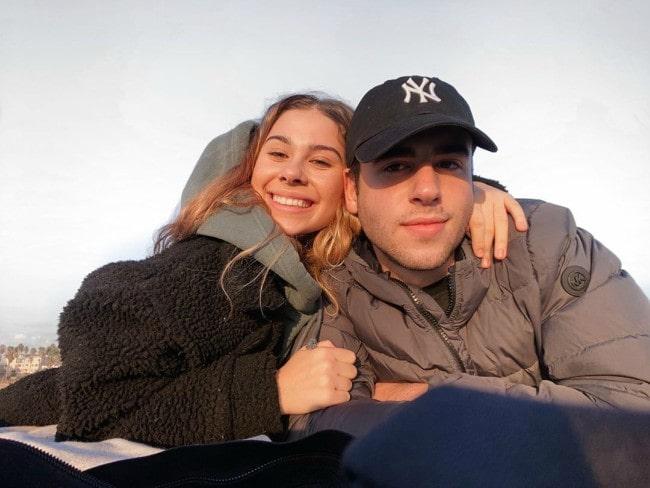 Emily Alexander and Adi Fishman as seen in November 2019
