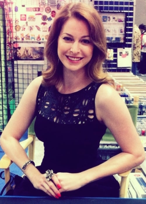Esmé Bianco as seen in a picture taken at the 2013 San Diego Comicon on July 19