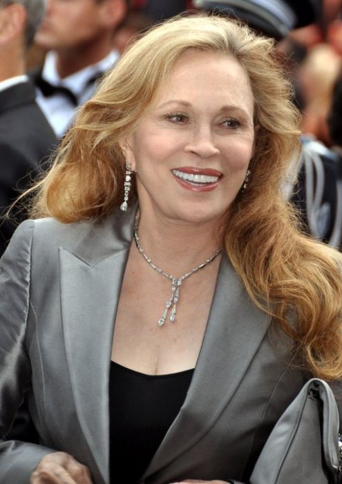 Faye Dunaway seen at the 2011 Cannes film festival