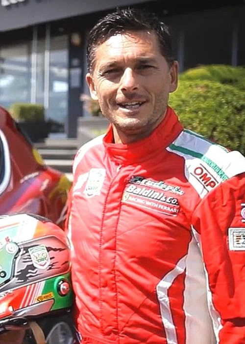 Giancarlo Fisichella as seen in an Instagram Post in April 2020