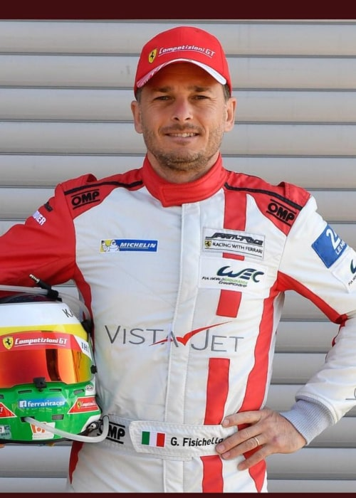 Giancarlo Fisichella as seen in an Instagram Post in May 2018