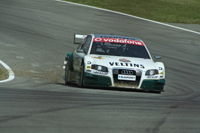 Heinz-Harald Frentzen as seen while driving for Audi in the 2006 Deutsche Tourenwagen Masters season