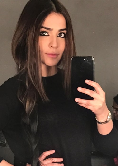Humaima Malick as seen in October 2019