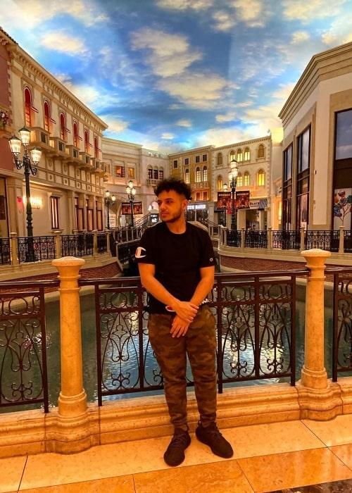 InTrollsive as seen in a picture that was taken in Las Vegas in January 2020