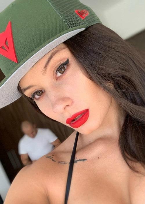 Issa Vegas in an Instagram selfie as seen in June 2020