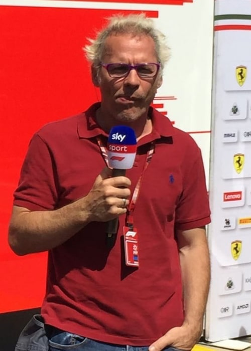 Jacques Villeneuve as seen in an Instagram Post in August 2018