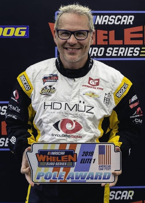 Jacques Villeneuve as seen in an Instagram Post in July 2019