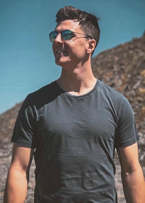 James Calado as seen in February 2020
