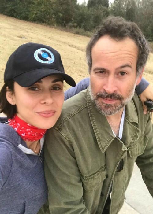 Jason Lee and Ceren Alkac in a selfie in November 2017