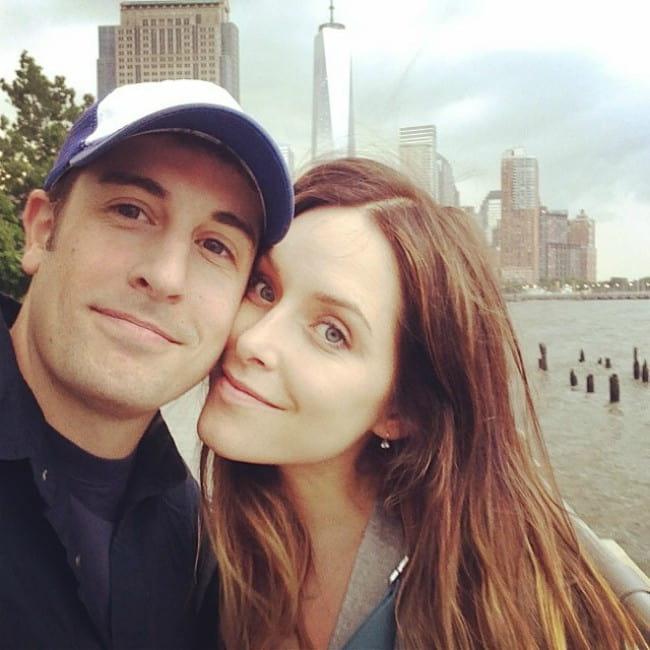 Jenny Mollen and Jason Biggs in a selfie in June 2014