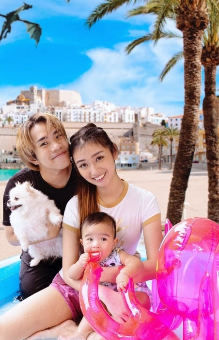 JianHao Tan with his family in May 2020