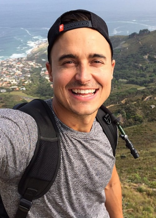 Joe King in an Instagram selfie from September 2014, during a trip to Cape Town, South Africa