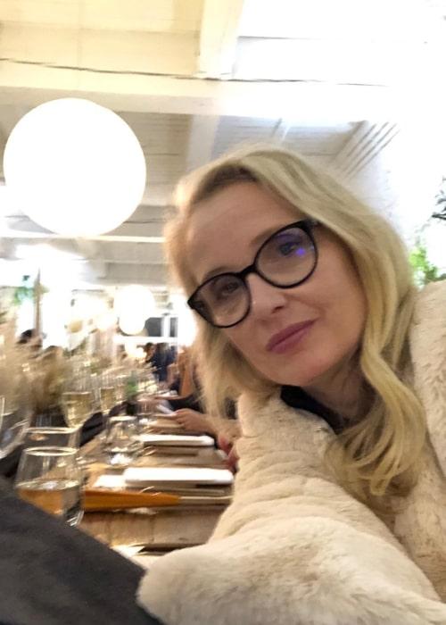 Julie Delpy in an Instagram selfie from September 2019
