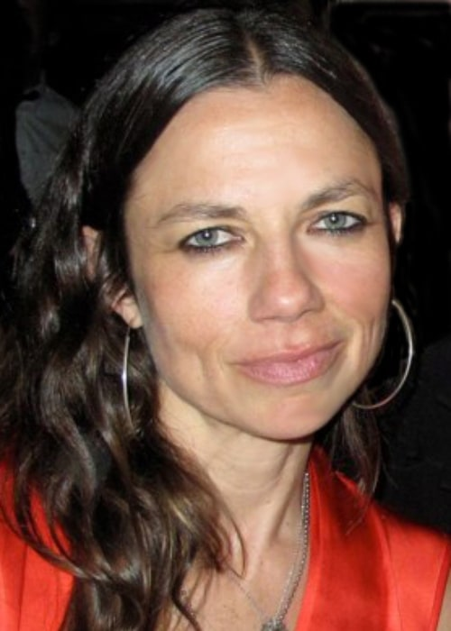 Justine Bateman as seen in a picture taken in New York City on April 10, 2011