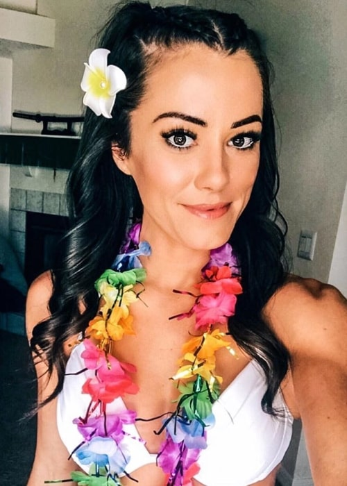 Kacy Catanzaro as seen in a selfie taken in May 2020