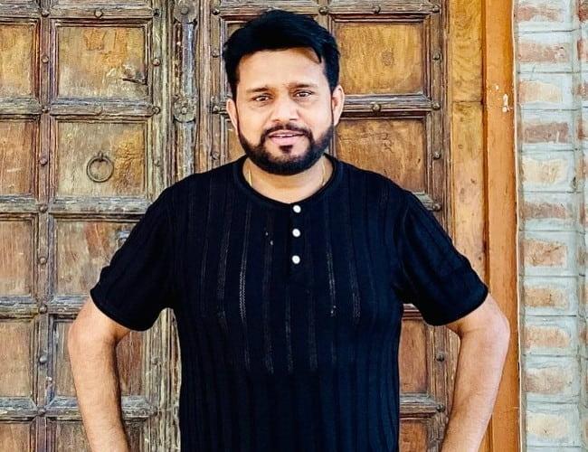 Karamjit Anmol in an Instagram post as seen in May 2020