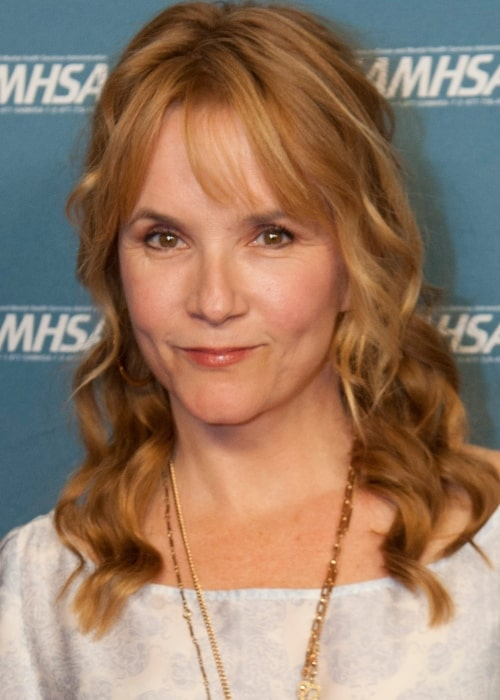 Lea Thompson as seen in a picture taken at the Samhsa Voice Awards 2013 on September 25