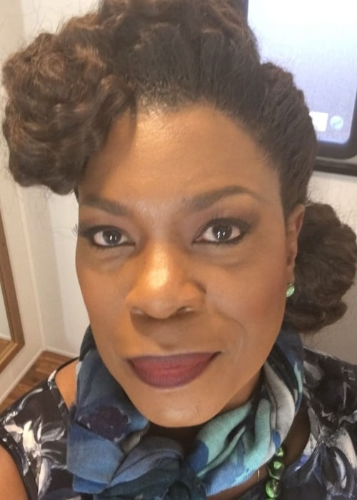 Lorraine Toussaint in an Instagram selfie from May 2016