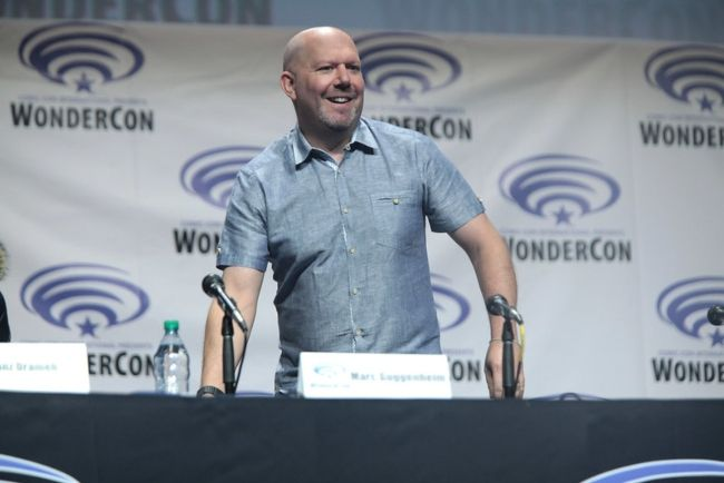 Marc Guggenheim attending the WonderCon for Legends of Tomorrow in 2016