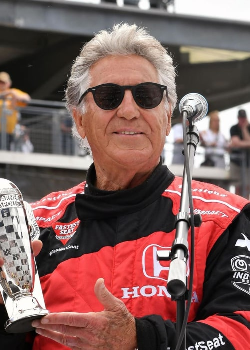 Mario Andretti as seen in an Instagram Post in May 2019