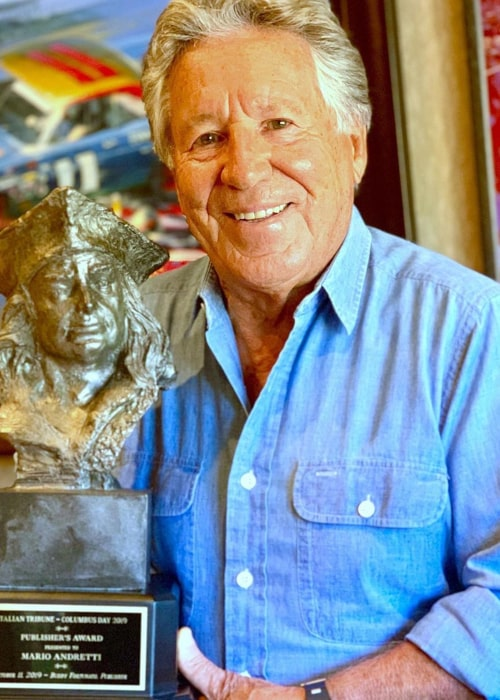 Mario Andretti as seen in an Instagram Post in October 2019
