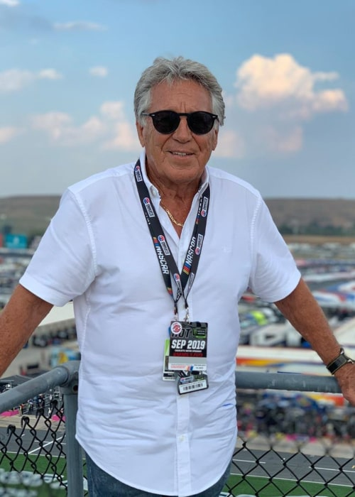Mario Andretti as seen in an Instagram Post in September 2019